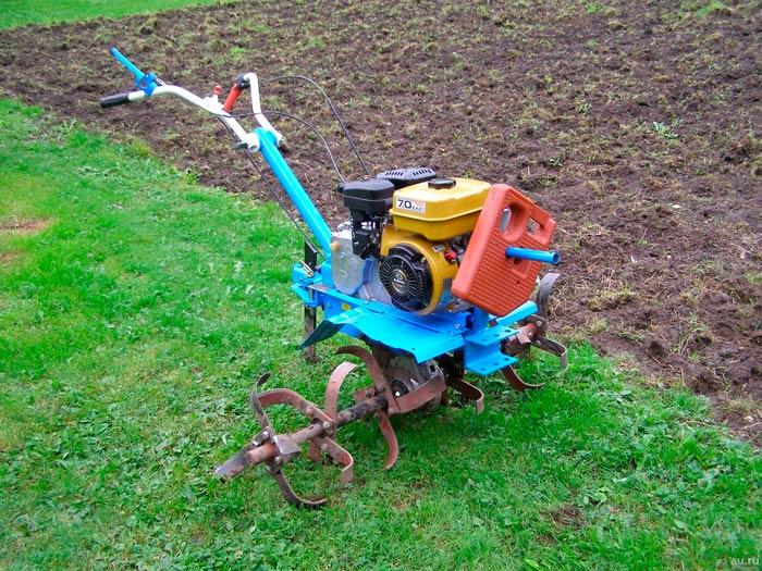 Хорошее разрыхление почвы