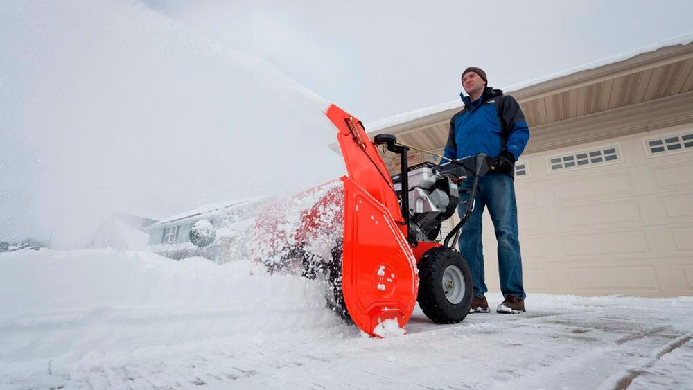 снегоуборщик на мотоблоке