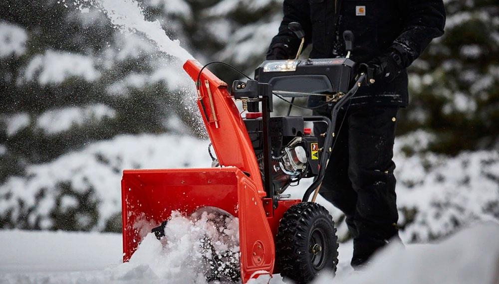 Лучшие бензиновые снегоуборочные машины