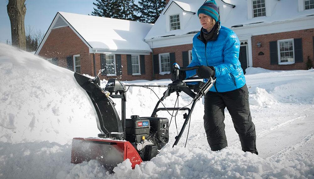 Правильный выбор надёжного снегоуборщика