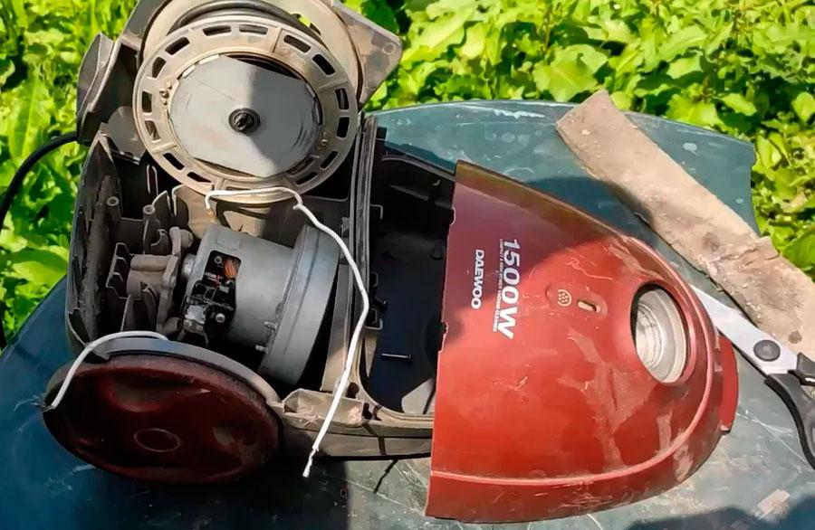 Двигатель пылесоса