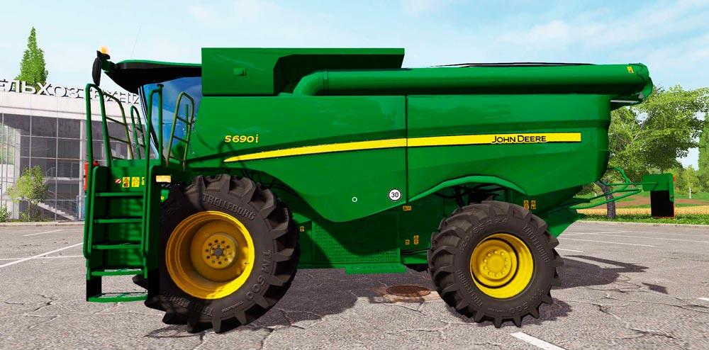 John Deere S690