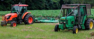 Выбор трактора для личного хозяйства