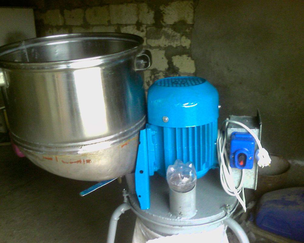 зернодробилка из стиральной машины